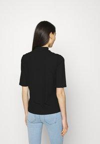Vila - T-shirt basic - black - 2