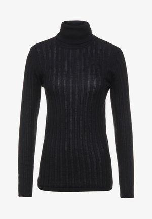 MANICA LUNGA COLLO ALTO - Pullover - black