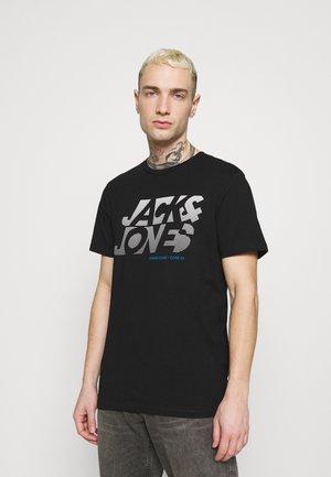 JCONEWPHENIX TEE CREW NECK - Print T-shirt - black