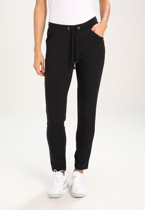 SAMY - Tracksuit bottoms - black