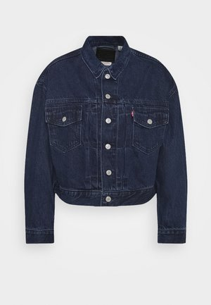 NEW HERITAGE TRUCKER - Denim jacket - dark blue denim