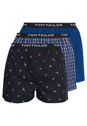 3 PACK - Boxer shorts - blue/black