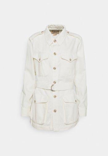 SHOWL WASH - Krátký kabát - natural