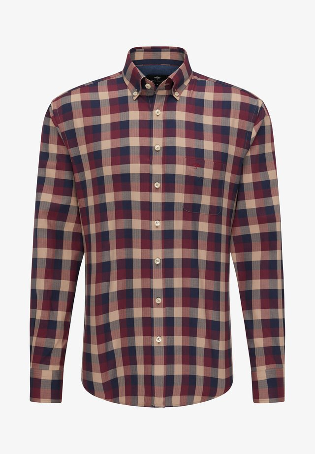 Shirt - red check