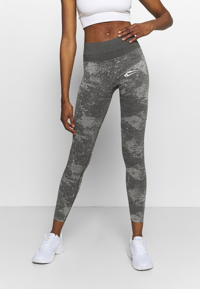 HIGH WAIST SAVAGE - Legging - anthrazit/grau