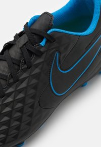 Nike Performance - TIEMPO LEGEND 8 CLUB FG/MG - Moulded stud football boots - black/light photo blue/cyber - 5