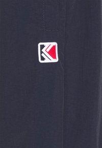 Karl Kani - BLOCK TRACKPANTS - Pantaloni sportivi - navy - 2