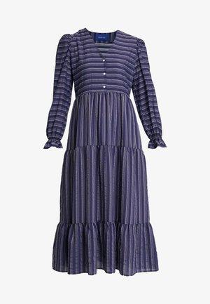 SILLE DRESS - Shirt dress - navy