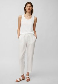 Marc O'Polo - Top - white linen - 1