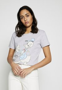 Cotton On - CLASSIC DISNEY - T-shirt con stampa - grey marle - 0