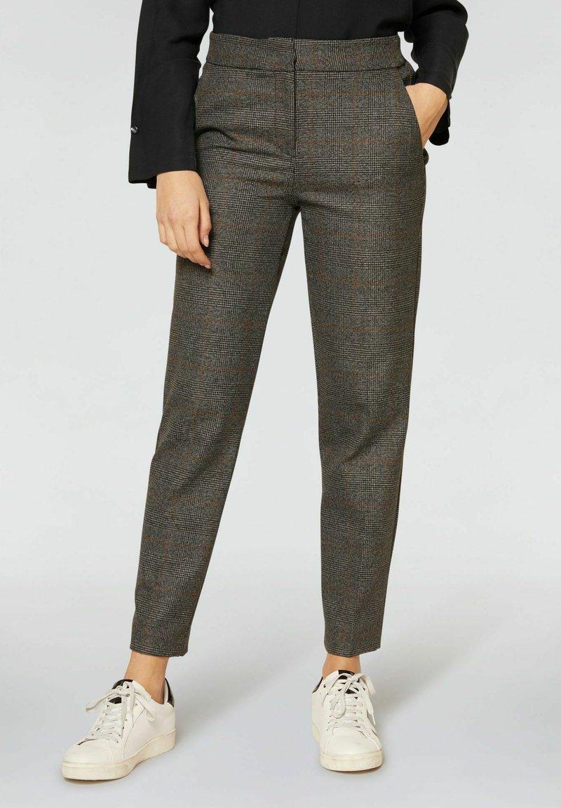 Conbipel - Pantaloni - grigio scuro melange