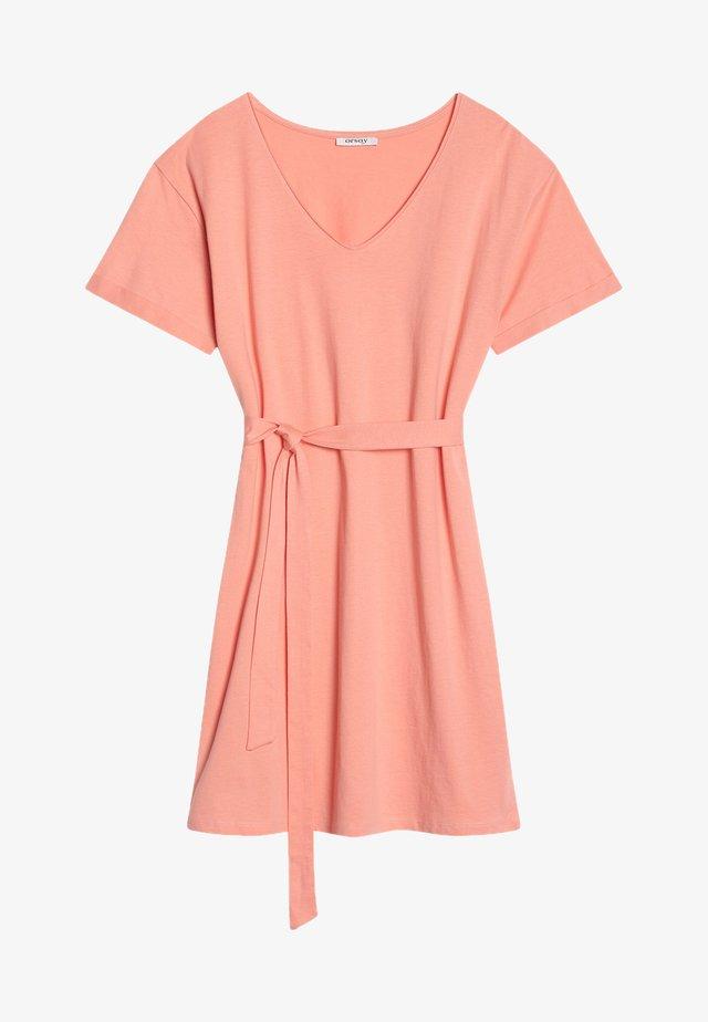 Jersey dress - helles flamingo