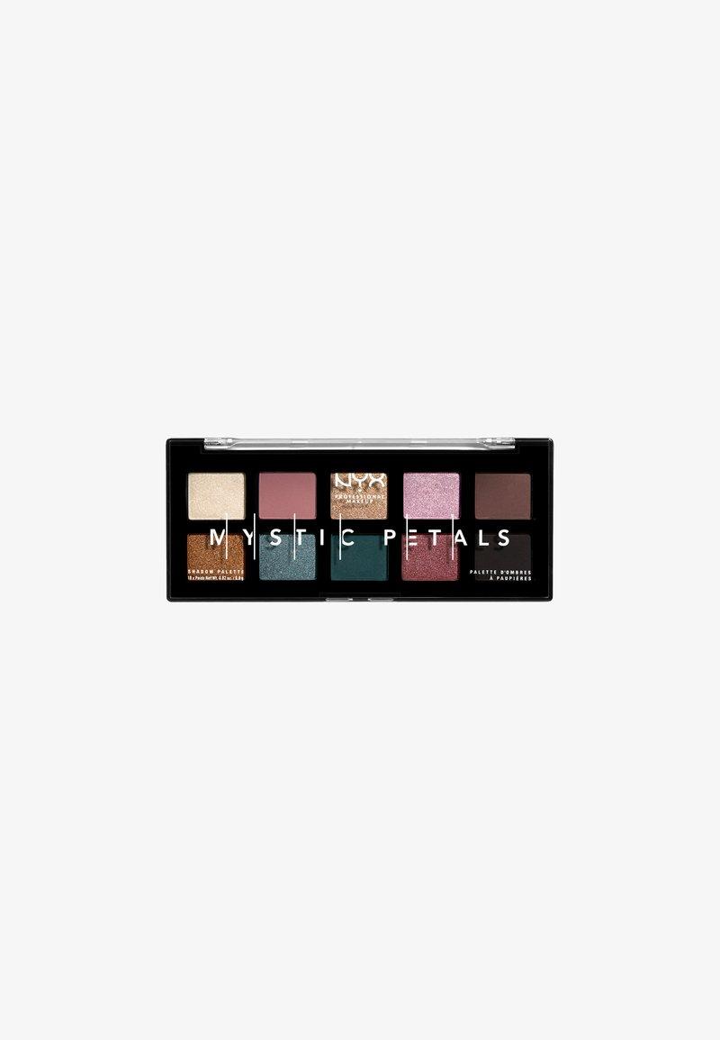 Nyx Professional Makeup - MYSTIC PETALS SHADOW PALETTE - Ögonskuggepalett - 02 dark mystic