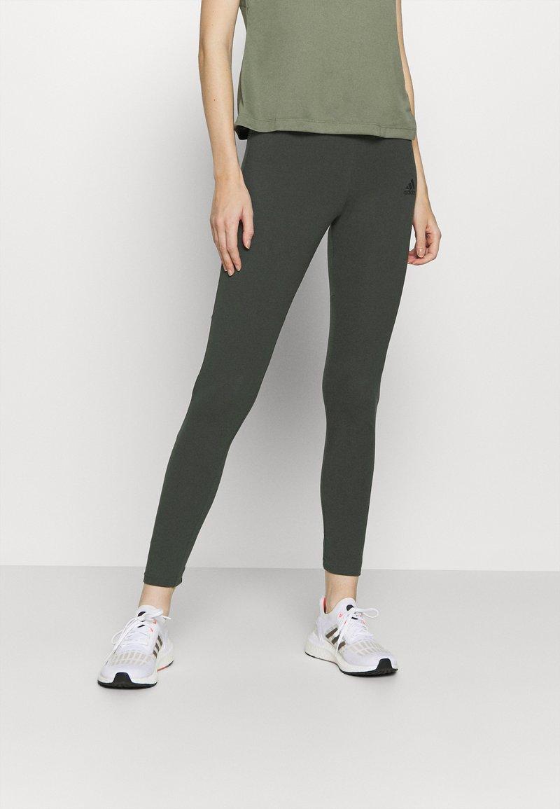 adidas Performance - Leggings - khaki