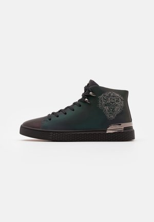 NEW BEAST IRIDESCENT - Sneakers hoog - gunmetal
