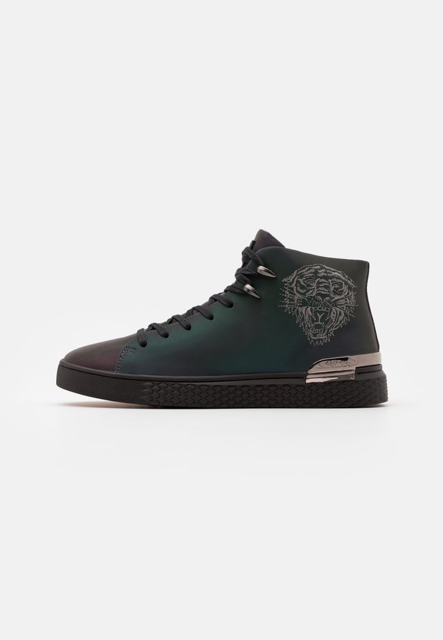 NEW BEAST IRIDESCENT - High-top trainers - gunmetal