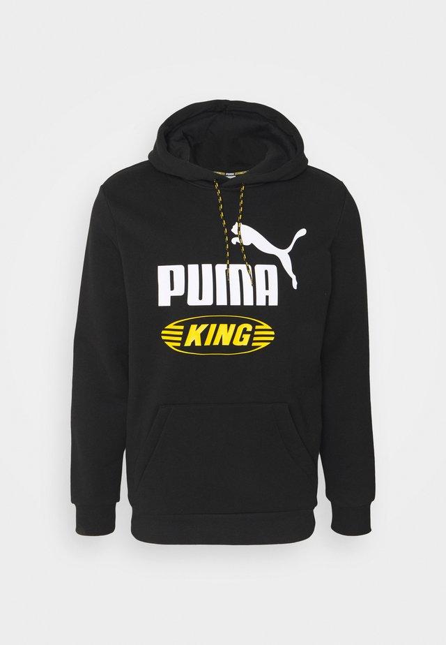 ICONIC KING HOODIE - Hoodie - puma black