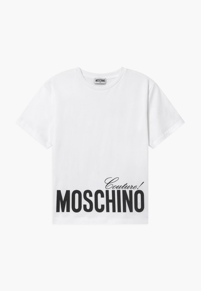 MAXI OVERSIZE - T-shirt print - optic white