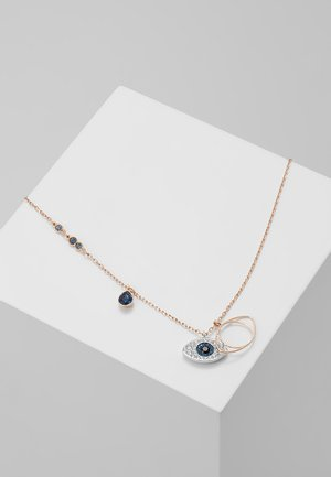 DUO PENDANT EVIL EYE - Naszyjnik - silver-coloured