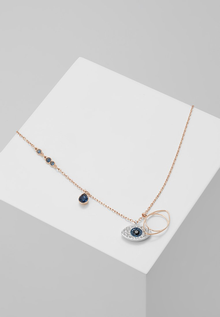 Swarovski - DUO PENDANT EVIL EYE - Collar - silver-coloured