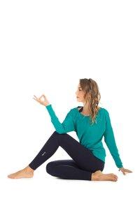 Winshape - LONGSLEEVE - Sweatshirt - ocean green - 1