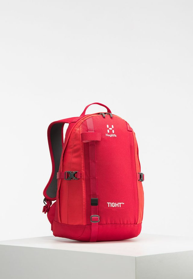 TIGHT SMALL - Rucksack - rich red/pop red