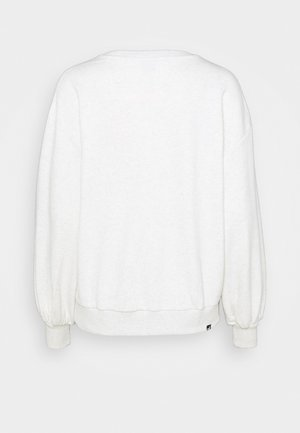 HER CREW - Sweatshirt - white heather