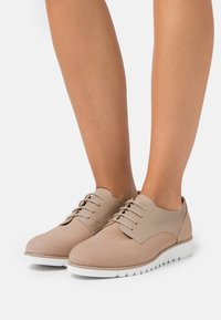 Dune London WIDE FIT - WIDE FIT FLINCH - Lace-ups - cappuccino - 0