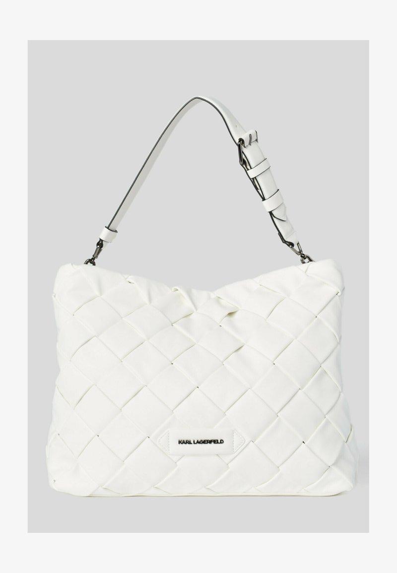 KARL LAGERFELD - Shopping Bag - white