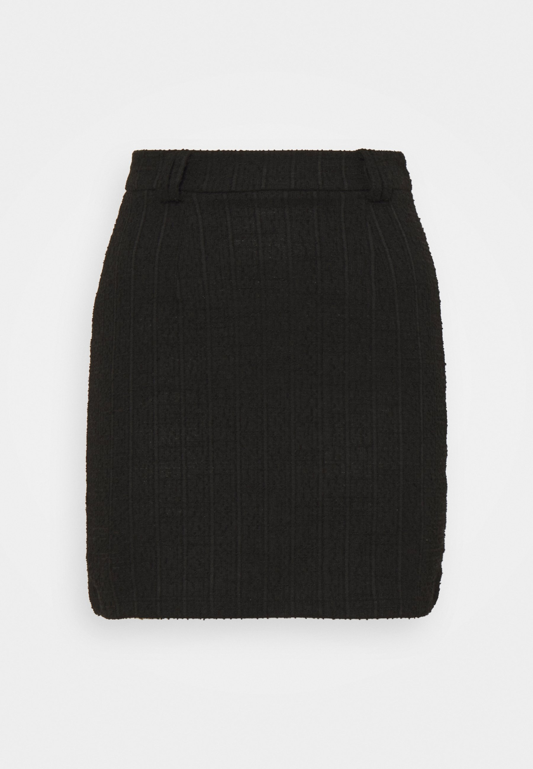Femme mini skirt with belt loop - Jupe crayon