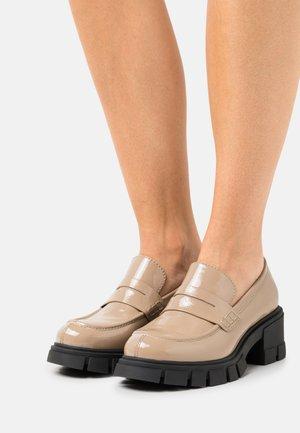 VEGAN PENNYY - Classic heels - other beige
