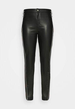 STAR PANTS - Pantalones - black