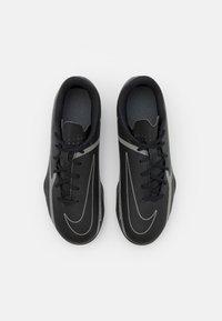 Nike Performance - JR. PHANTOM GT2 CLUB FG/MG UNISEX - Moulded stud football boots - black/iron grey/metallic bomber grey - 3