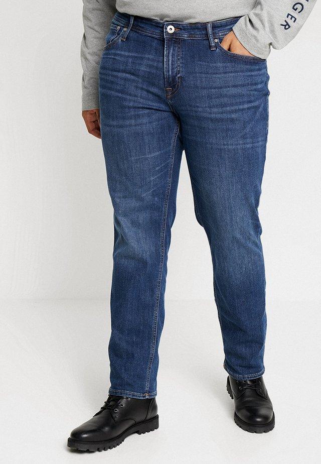 JJITIM JJORIGINAL - Džíny Straight Fit - blue denim