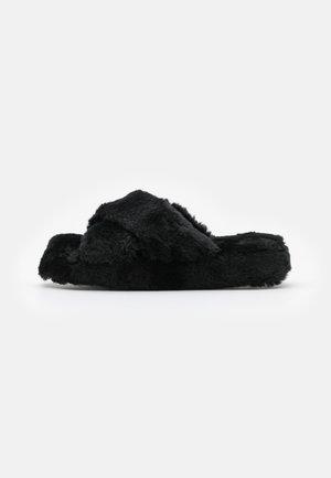 NATFORM FLATFORM SLIDER - Slippers - black