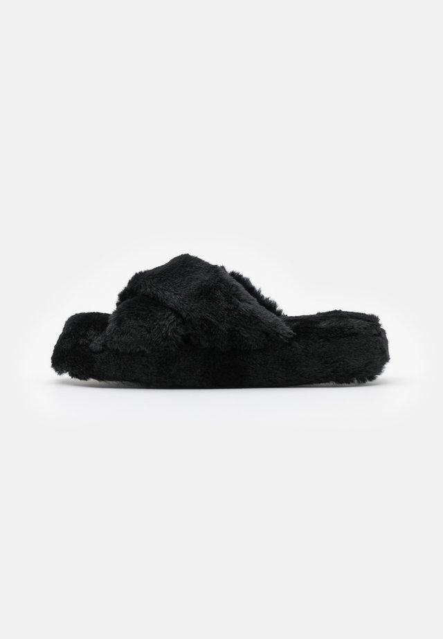 NATFORM FLATFORM SLIDER - Tofflor & inneskor - black