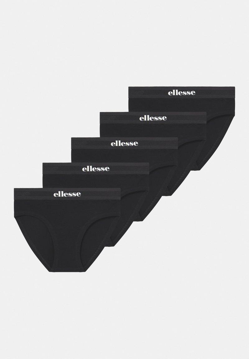 Ellesse - GRACIE 5 PACK - Briefs - black