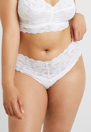NEVER SAY NEVER PLUS LOVELIE THONG - Perizoma - white