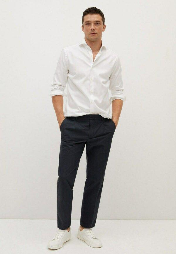 Mango BEVIS - Koszula - weiß/biały Odzież Męska VVJD