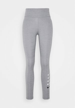 RUN - Leggings - particle grey/light smoke grey/reflective silver