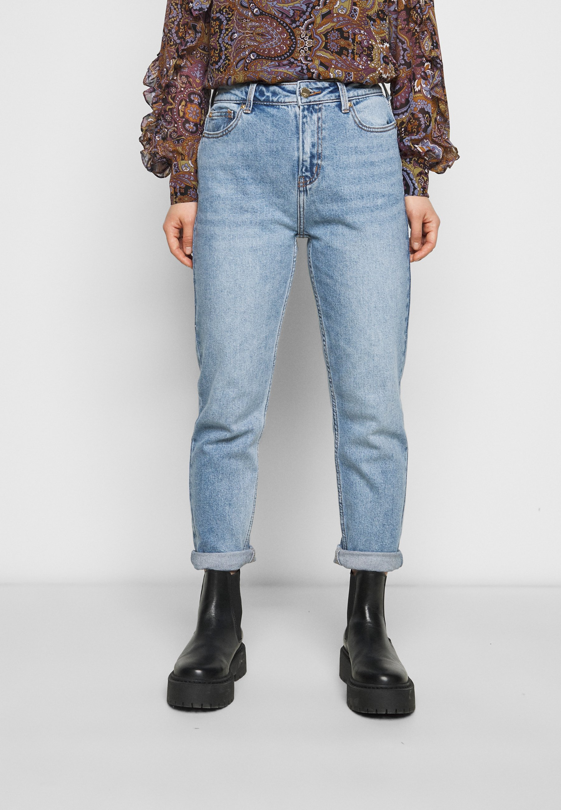 Women ONLEMILY LIFE ANKLE  - Straight leg jeans - medium blue