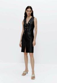 Uterqüe - Shift dress - black - 1