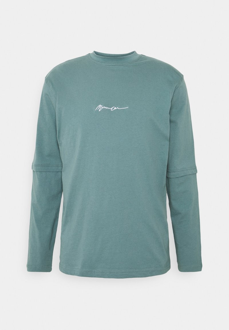 Mennace - ESSENTIAL SIGNATURE LAYERED UNISEX  - Topper langermet - dark green