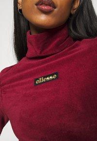 Ellesse - HOLLIE - Long sleeved top - burgundy - 5