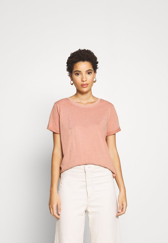 T-shirt z nadrukiem - light pink