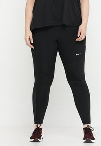 Nike Performance - Leggings - black/white - 0