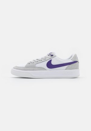 ADVERSARY UNISEX - Skate shoes - grey fog/court purple/grey fog/white/lucky green