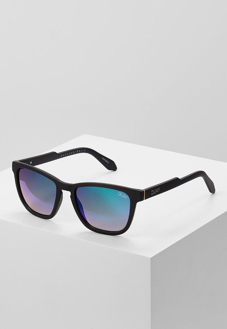 QUAY AUSTRALIA - HARDWIRE - Okulary przeciwsłoneczne - black/navy