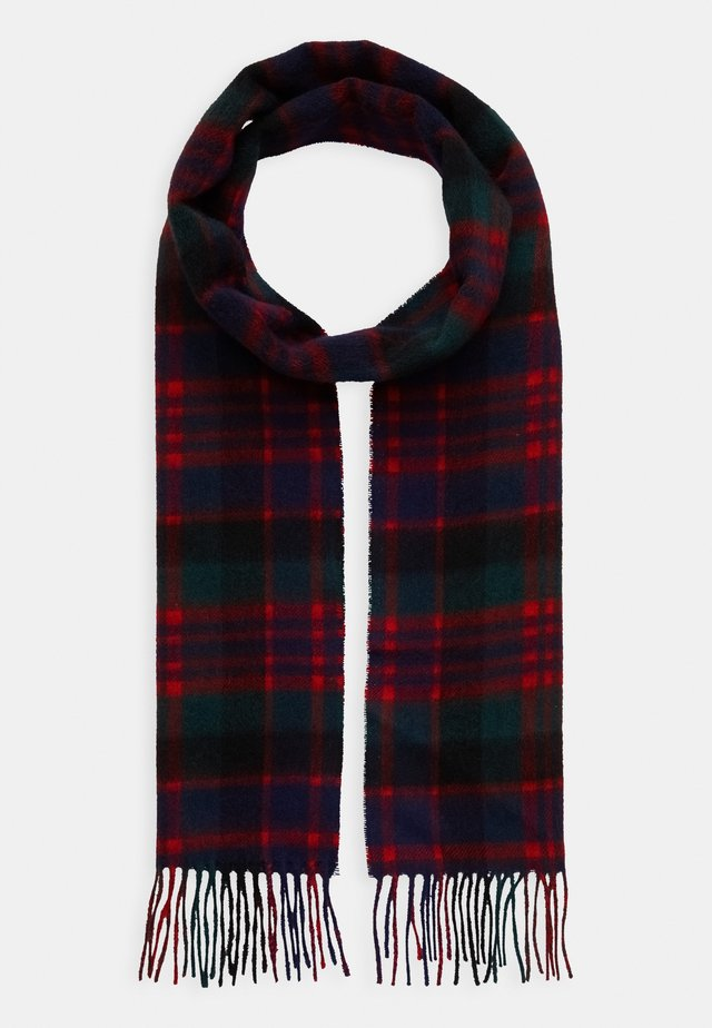 NEW CHECK TARTAN SCARF - Šála - blue/green