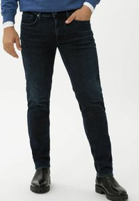 BRAX - STYLE CHRIS - Slim fit jeans - deep night used - 0